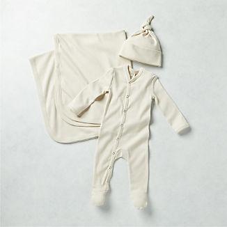 Cream Kate Quinn Baby Gift Set