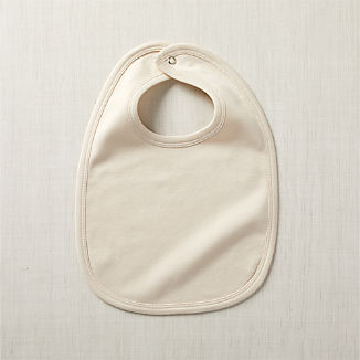 Cream Kate Quinn Snap Bib