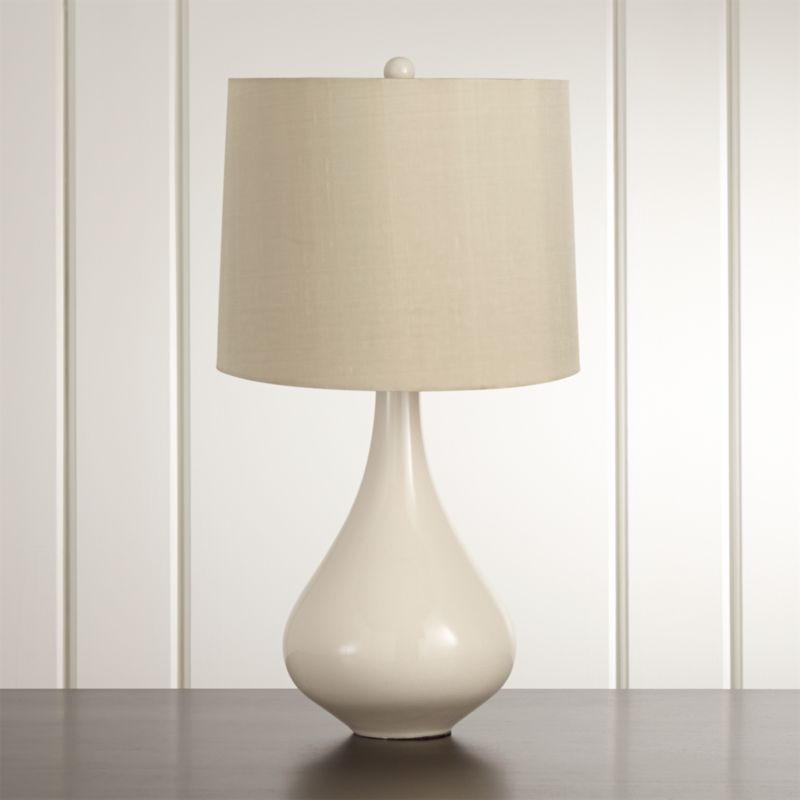 Kathryn ivory table lamp reviews crate and barrel aloadofball Image collections