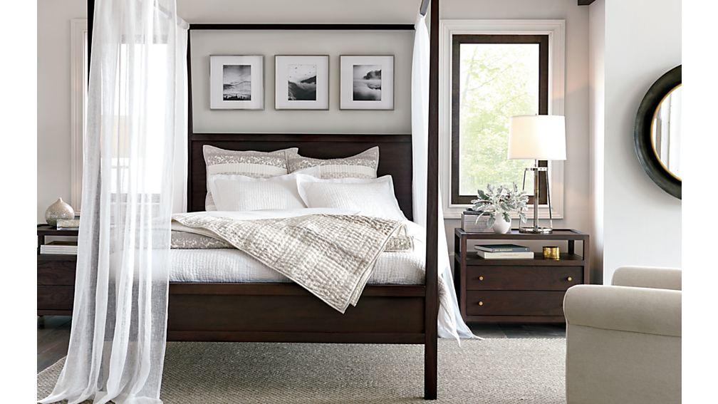 Keane Queen Canopy Bed