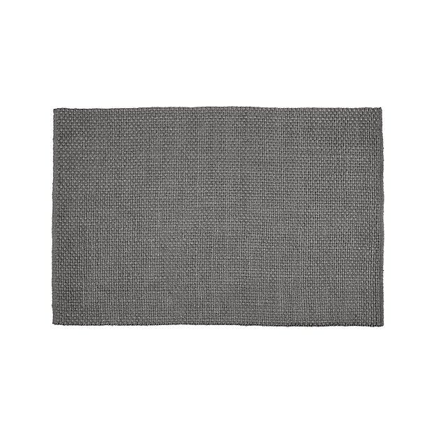 Keeler Grey Jute Rug 9 X12 Reviews Crate And Barrel