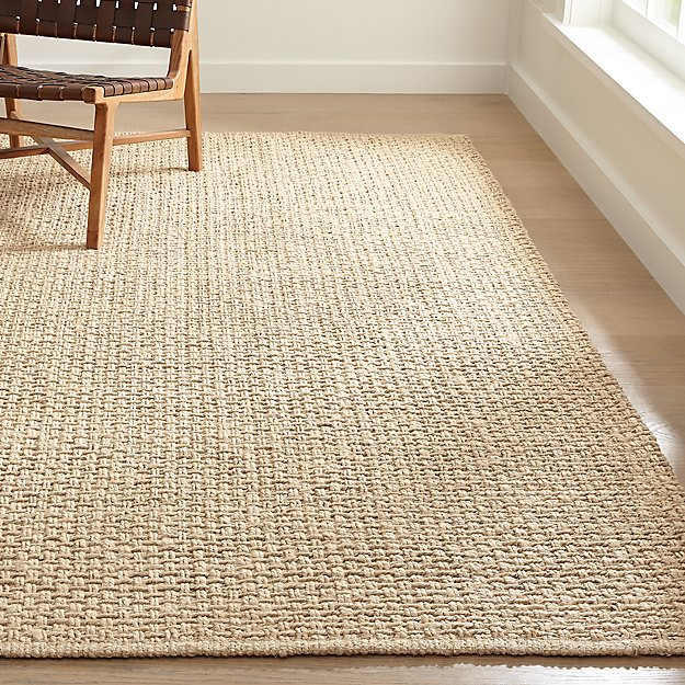 Keeler Parchment Jute Rug Crate And Barrel