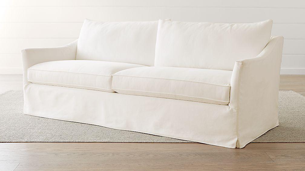 Keely Slipcovered Sofa - Image 1 of 6