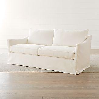 Keely Slipcovered Apartment Sofa
