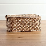 Kelby Large Rectangular Lidded Basket