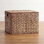 Kelby Large Square Lidded Basket