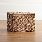 Kelby Small Square Lidded Basket