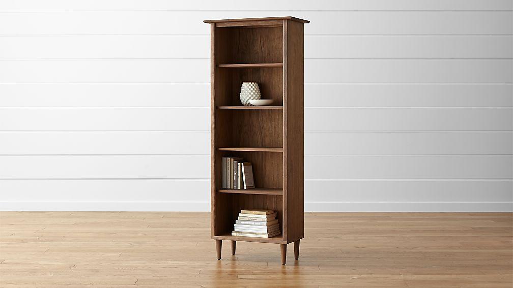 Kendall Walnut Bookcase - Image 1 of 7