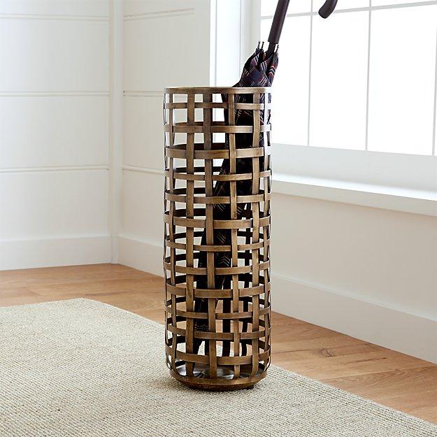 Kensington Umbrella Stand | Crate and Barrel