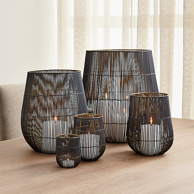 Kent Wire Candle Holders Crate And Barrel