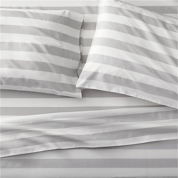 Marimekko Kesahelle Grey Extra-Long Twin Sheet Set