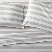 Marimekko Kesahelle Grey Queen Sheet Set