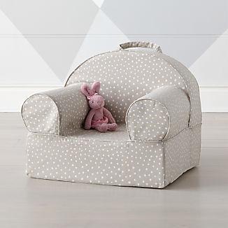 Small Khaki Star Nod Chair