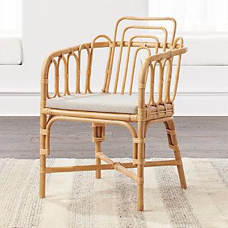 Kids Rattan Chair