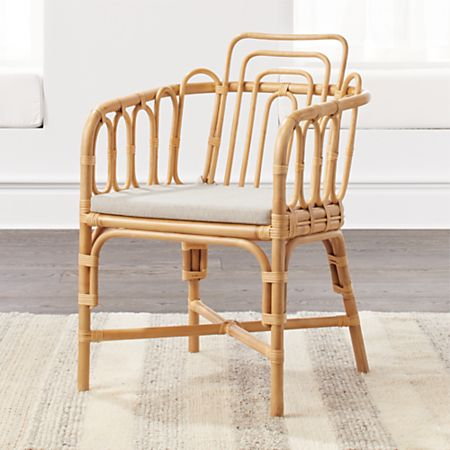 Enjoyable Kids Rattan Chair Gmtry Best Dining Table And Chair Ideas Images Gmtryco