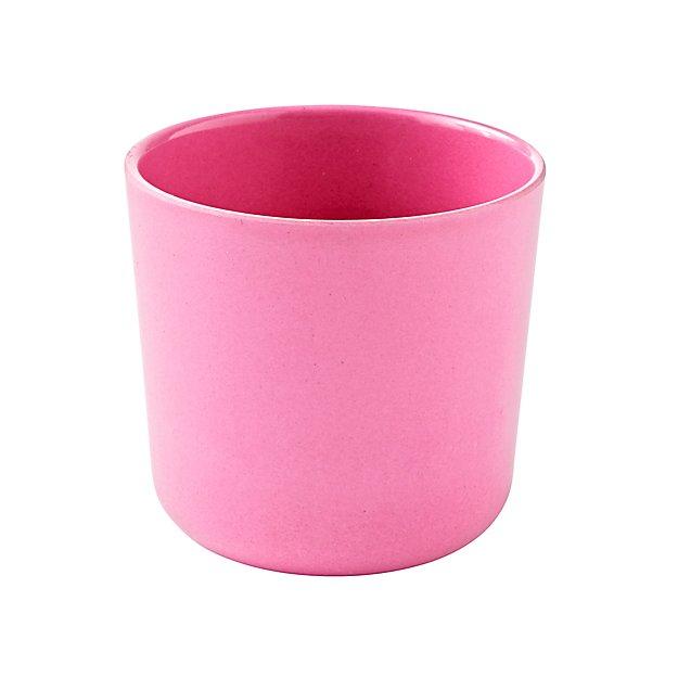 Ekobo Pink Kids Cup Reviews Crate And Barrel