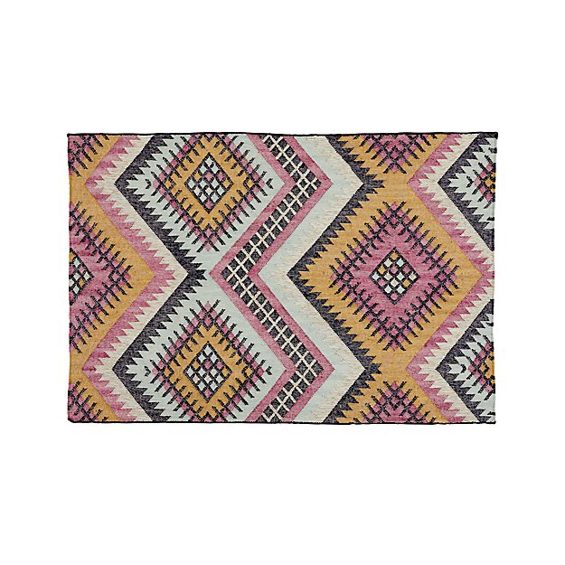 Kilim 5 X 8 Indoor Outdoor Rug Reviews Crate And Barrel