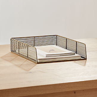 Kinsey Wire Paper Tray