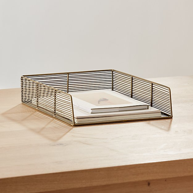 Kinsey Wire Paper Tray - Image 1 of 5