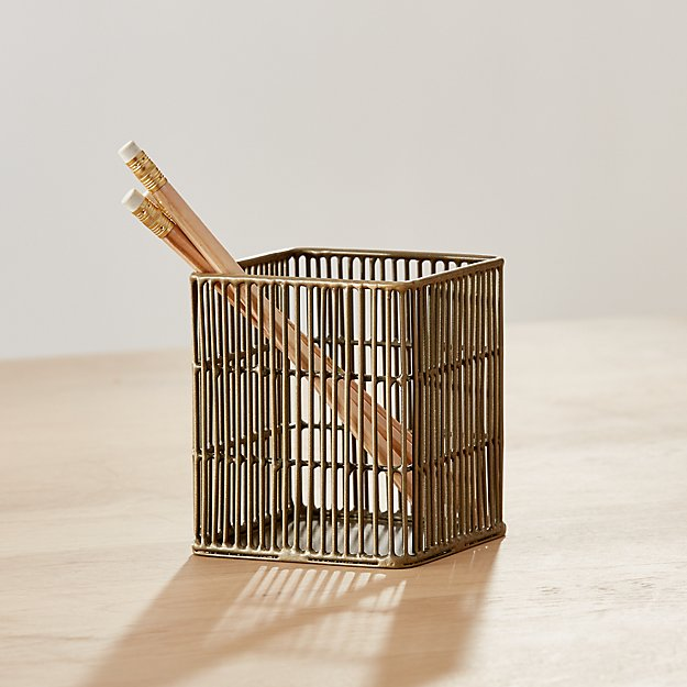 Kinsey Wire Pencil Cup - Image 1 of 5