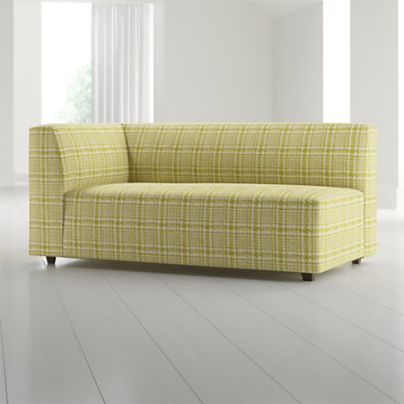 Kinsley Left Arm Sofa Crate And Barrel