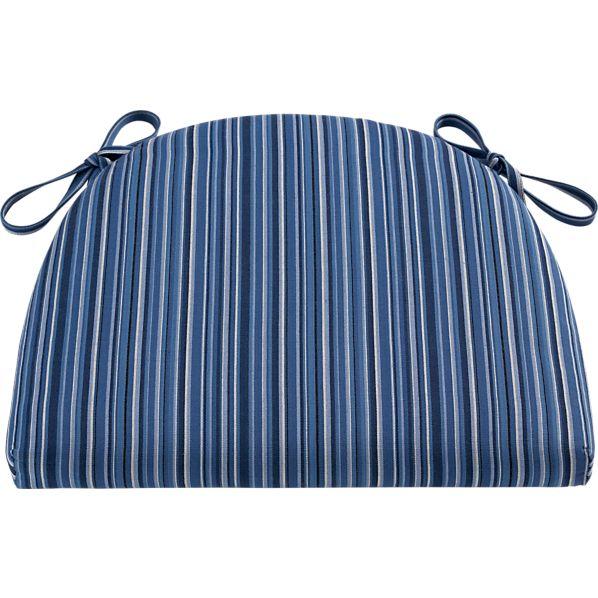 Kipling-Vintner Indigo Stripe Cushion