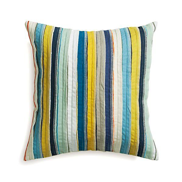 Kipton Pillow with Down-Alternative Insert