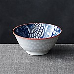 Kiso Blue 6  Rice Bowl
