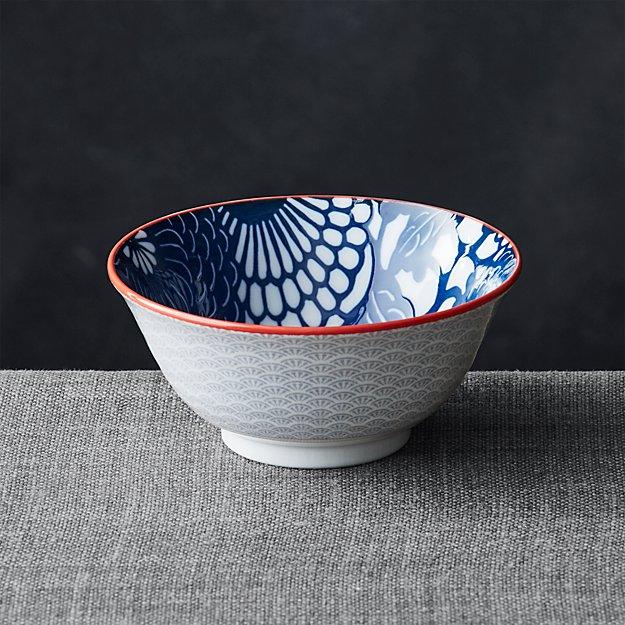 "Kiso Blue 6"" Rice Bowl"