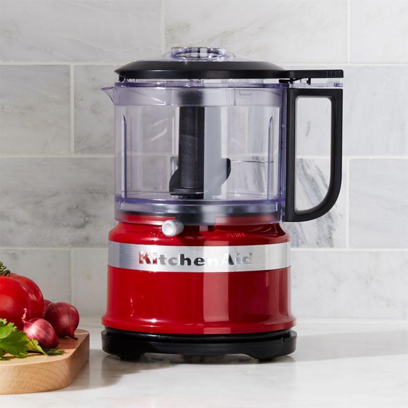 kitchenaid empire red 35cup food chopper - Kitchenaid Food Processor