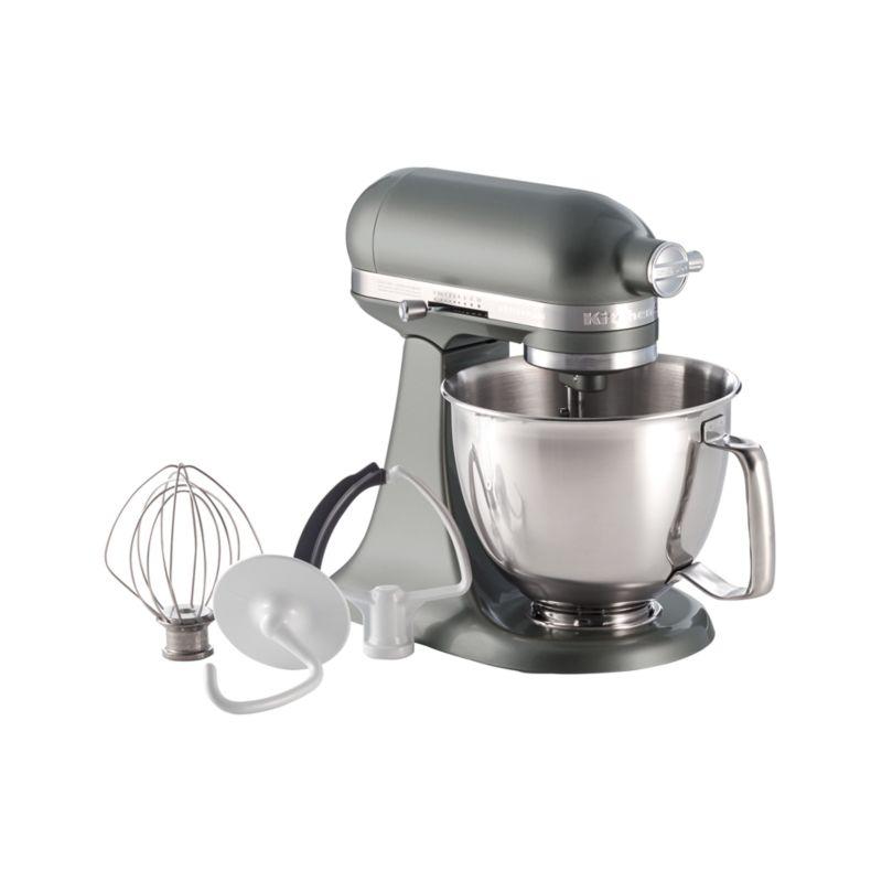 Kitchenaid Artisan Contour Silver Mini Mixer With Flex