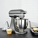 KitchenAid ® Artisan Contour Silver Mini Mixer with Flex Edge Beater