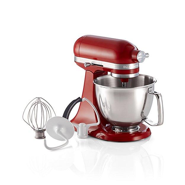 KitchenAid ® Artisan Empire Red Mini Mixer with Flex Edge Beater - Image 1 of 5