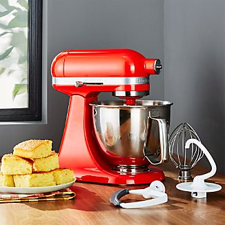 KitchenAid ® Artisan Hot Sauce Mini Mixer with Flex Edge Beater