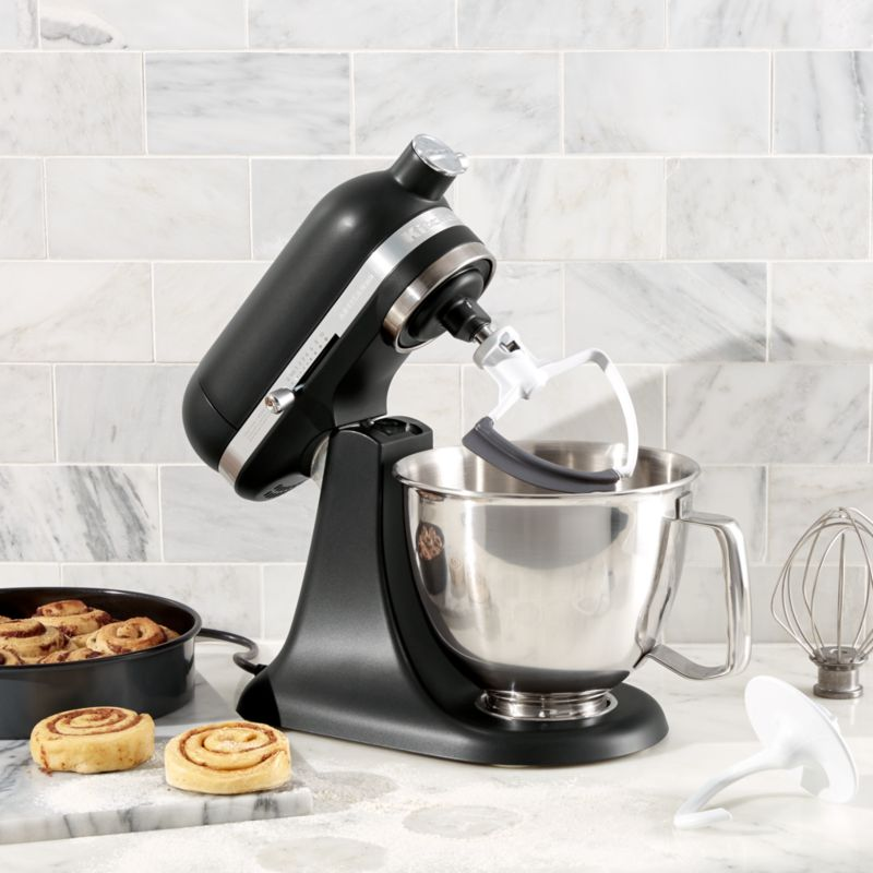 KitchenAid ® Artisan Matte Black Mini Mixer with Flex Edge Beater