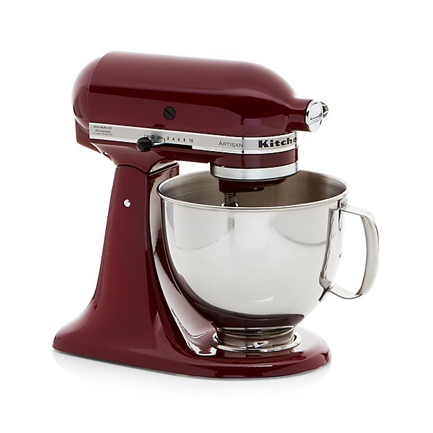 Kitchenaid Artisan Bordeaux Stand Mixer In Mixers