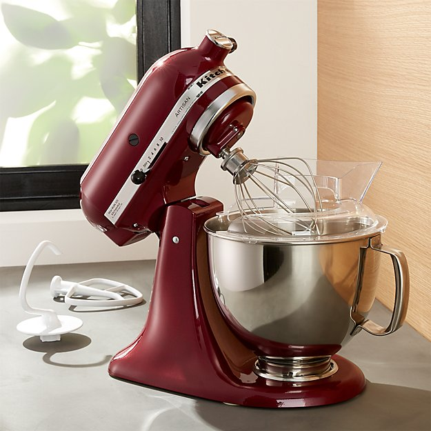 Kitchenaid 174 Artisan Bordeaux Stand Mixer Crate And Barrel