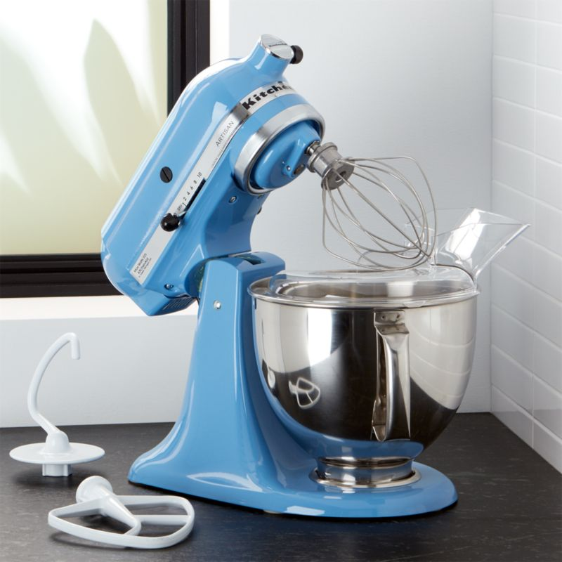KitchenAid Artisan Cornflower Blue Stand Mixer Crate and Barrel