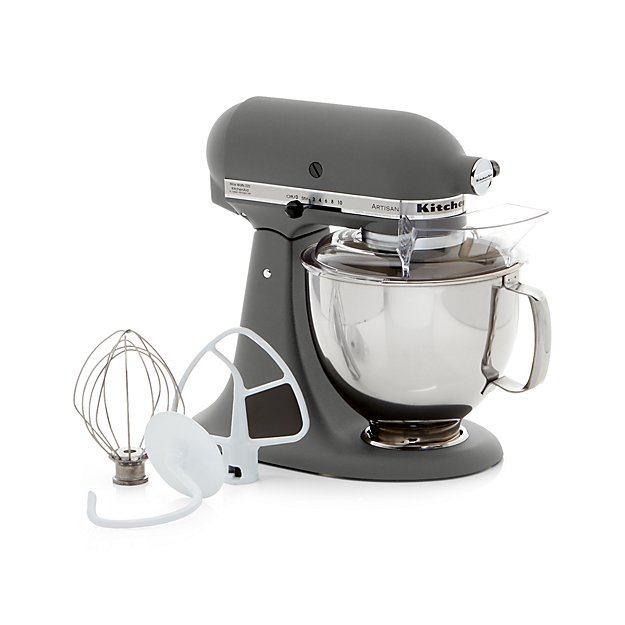 Grey Kitchenaid Mixer: KitchenAid Artisan Imperial Grey Stand Mixer In Mixers