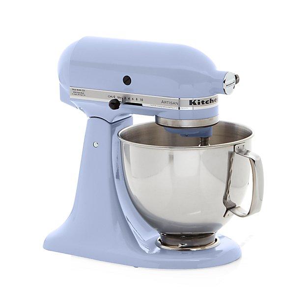 Kitchenaid Artisan Lavender Cream Stand Mixer In Mixers