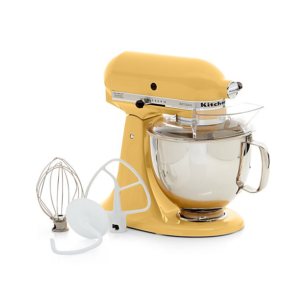 KitchenAid Artisan Majestic Yellow Stand Mixer + Reviews | Crate And Barrel