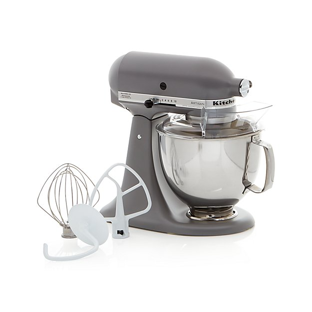 Grey Kitchenaid Mixer: KitchenAid Artisan Matte Grey Stand Mixer + Reviews