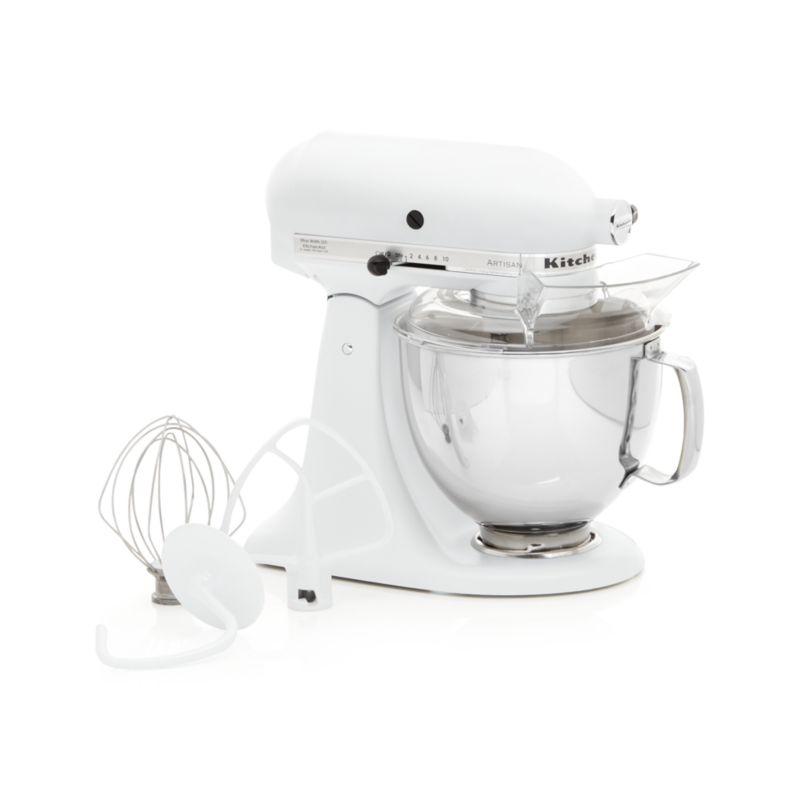 Kitchenaid Artisan Matte White Stand Mixer