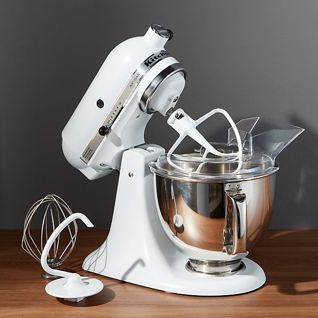 Kitchenaid ® Artisan Matte White Stand Mixer | Crate And Barrel