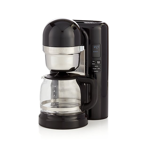 kitchenaid coffee maker kitchenaid 12 cup coffee maker reviews crate and barrel 13339