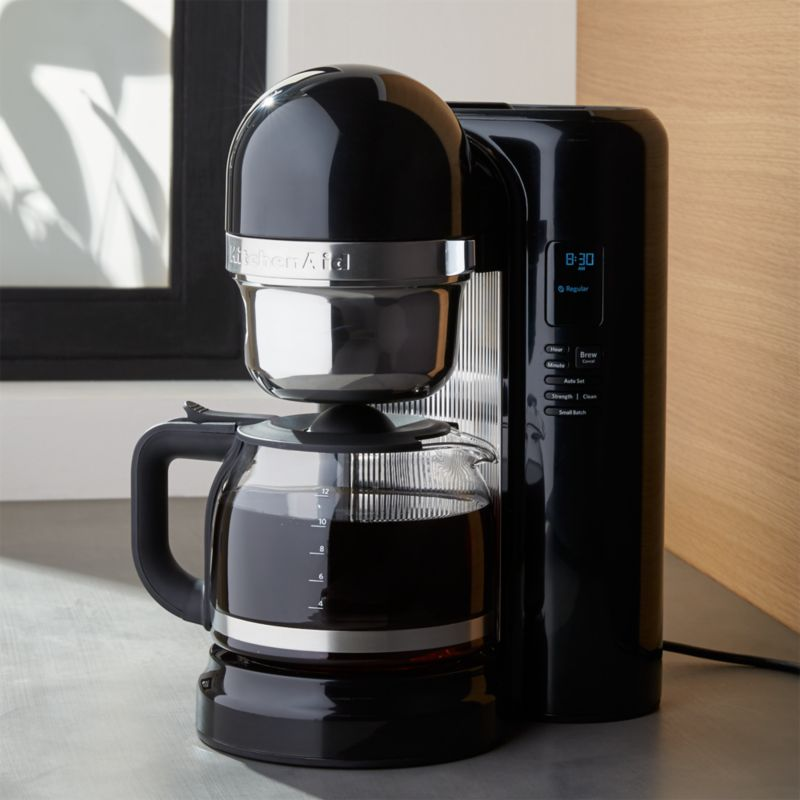 KitchenAid 12-Cup Coffee Maker + Reviews   Crate and Barrel on cuisinart coffee maker, viking coffee maker, 12 cup coffee maker, grind and brew coffee makers, dual coffee maker, nespresso coffee maker, thermal coffee maker, vacuum coffee maker, 14 cup coffee maker, black & decker coffee maker, 1 cup coffee maker, bunn coffee maker, mr coffee maker, 4 cup coffee maker, spacemaker coffee maker, 4 cup coffee makers, target red coffee maker, personal coffee maker, automatic coffee machines, blue coffee maker, black and decker coffee maker, braun coffee maker, starbucks coffee maker, farberware coffee maker, under cabinet coffee maker, thermal carafe coffee maker, coffee maker grinder, capresso coffee maker, 60 cup coffee maker,