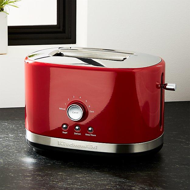KitchenAid Red 2-Slice Toaster