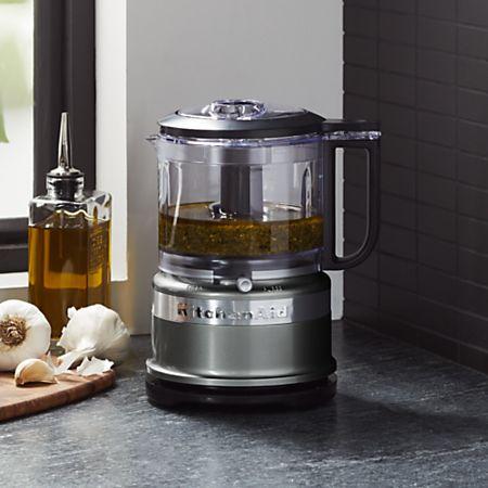 KitchenAid ® Contour Silver 3.5-Cup Mini Food Processor