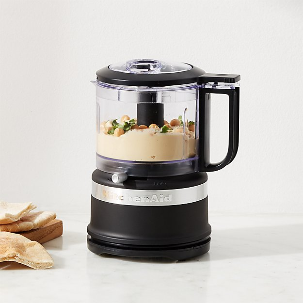 Kitchenaid Matte Black 3 5 Cup Food Chopper Reviews Crate And Barrel