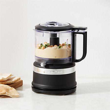 KitchenAid ® Matte Black 3.5-Cup Mini Food Processor